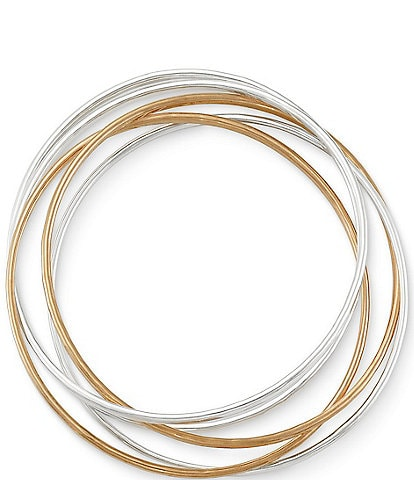 James Avery Cascading Circles Bangle Bracelet