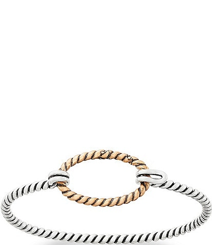 James Avery Changeable Twisted Wire Hook-On Bracelet