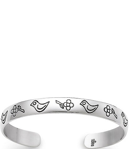 James Avery Child's Birds & Flowers Bracelet