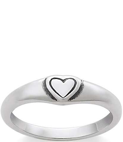 James Avery Child's Cherished Heart Ring