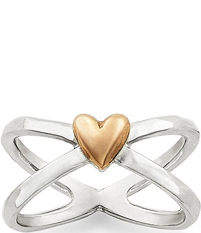 James Avery Cross Your Heart Ring