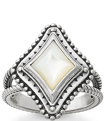 James Avery Dakota Ring with Mother of Pearl