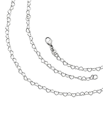 James Avery Delicate Connected Hearts Chain