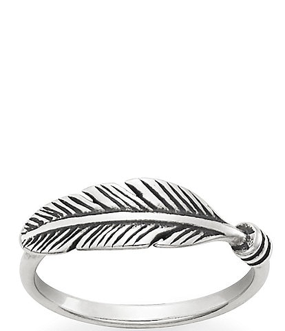 James Avery Delicate Feather Ring