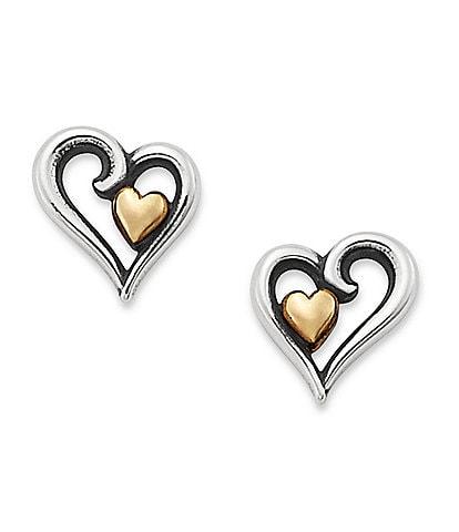 James Avery Delicate Joy of My Heart Ear Posts