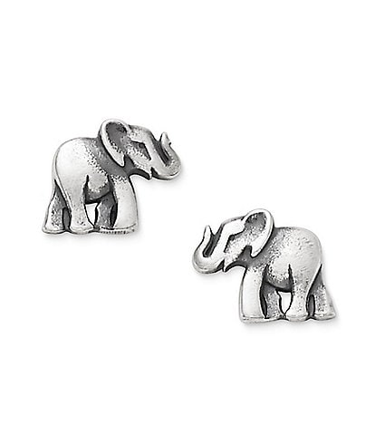 James Avery Elephant Stud Earrings