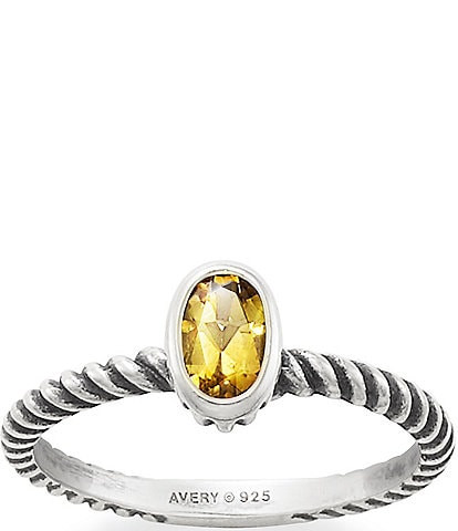 James Avery Elisa Collection Elisa Ring with Citrine