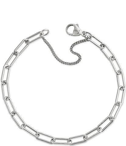 James Avery Elongated Link Charm Bracelet