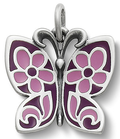James Avery Enamel Butterfly Charm