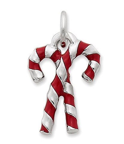 James Avery Enamel Candy Cane Charm