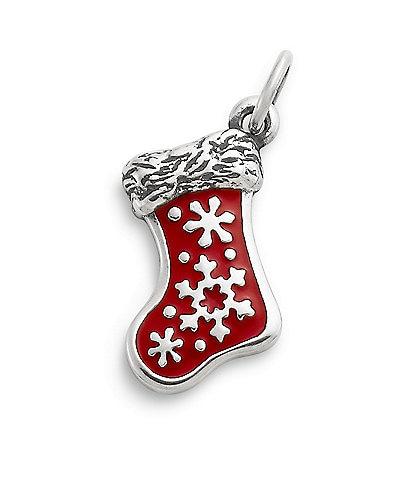 James Avery Enamel Christmas Stocking Charm