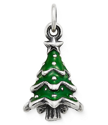 James Avery Enamel Christmas Tree Charm