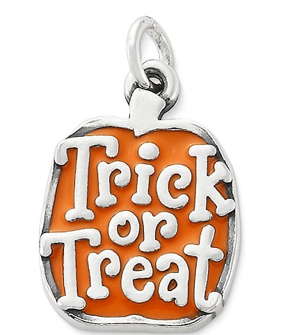 James Avery Enamel #double;Trick or Treat#double; Pumpkin Charm