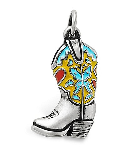 James Avery Enamel Western Boot Charm