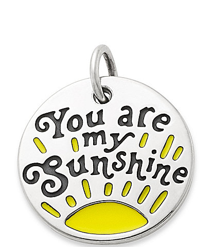 James Avery Enamel #double;You Are My Sunshine#double; Charm