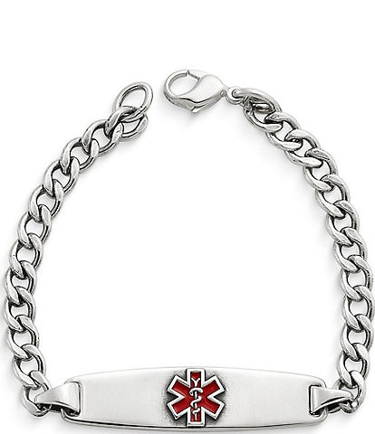 James Avery Enameled Medical Bracelet