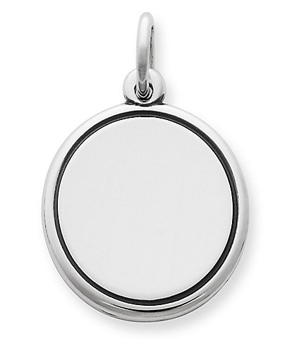 James Avery Engravable Disc Charm