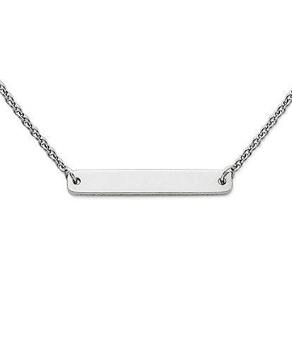 James Avery Engravable Horizon Necklace