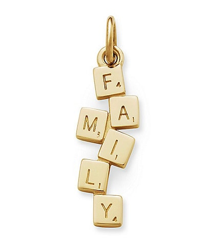 James Avery Family Time 14K Gold Charm