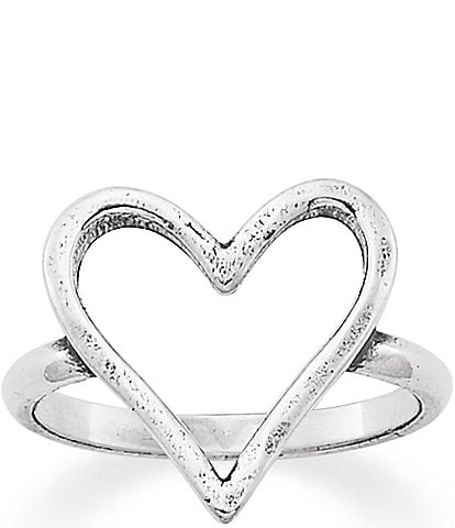 James Avery Fearless Heart Ring