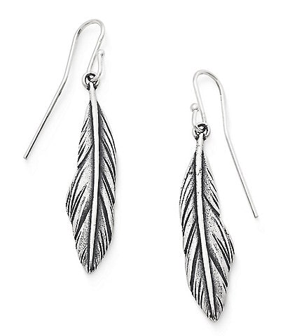 James Avery Feather Ear Hook Earrings