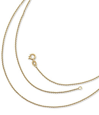 James Avery Fine Cable Chain
