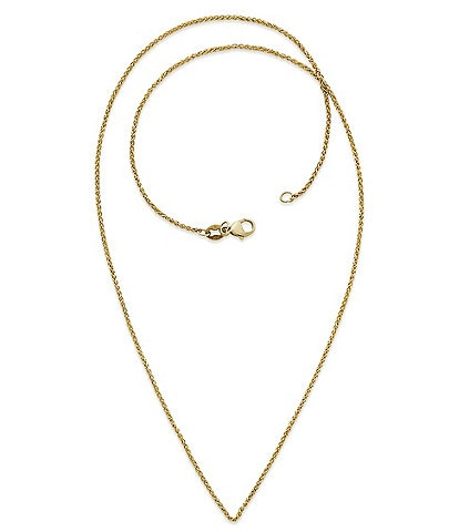 James Avery Fine Spiga 14K Gold Chain