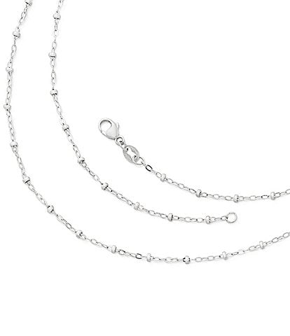 James Avery Forged Beaded Chain Necklace