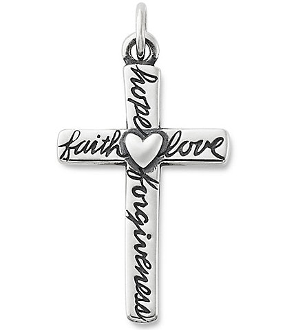James Avery From The Heart Cross Charm