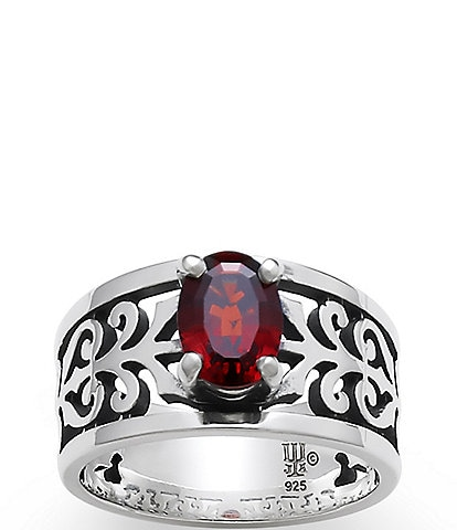 James Avery Garnet Adoree January Birthstone Ring