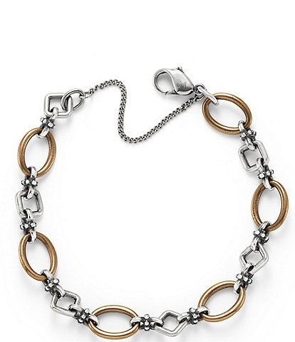 James Avery Geometric Links Charm Bracelet