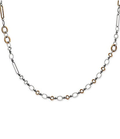 James Avery Geometric Links Necklace