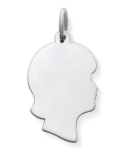 James Avery Girl Silhouette Charm