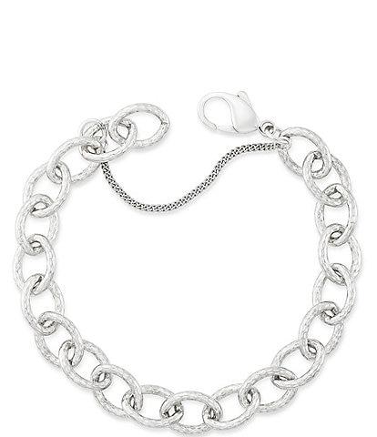 James Avery Hammered Charm Bracelet