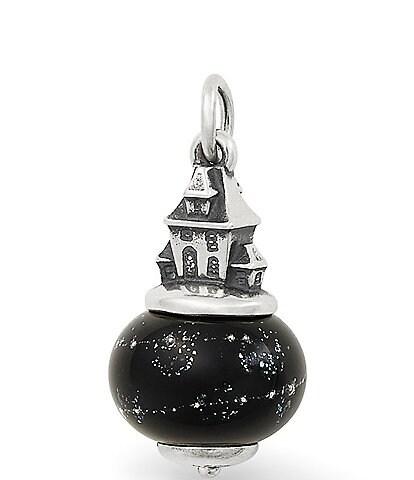 James Avery Haunted House Art Glass Charm