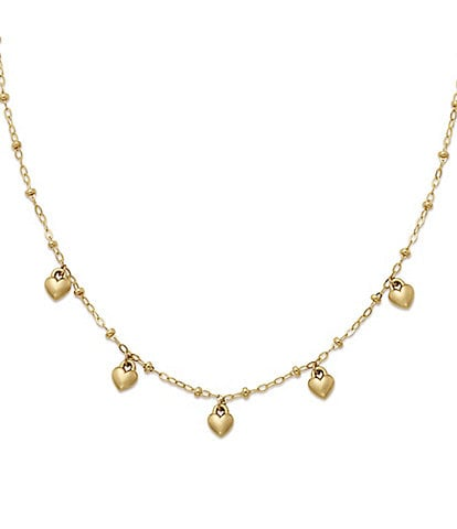 James Avery Heart Drops Necklace