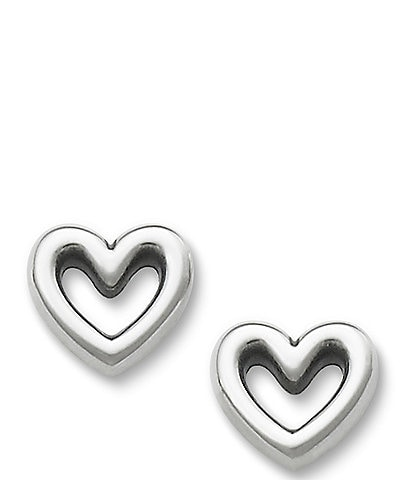 James Avery Heart Stud Earrings