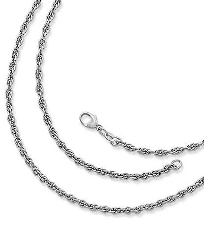 James Avery Heavy Rope Chain