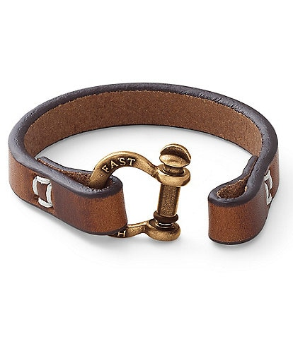 James Avery Hold Fast Leather Bracelet