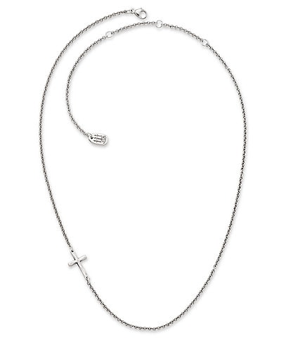 James Avery Sterling Silver Horizon Cross Necklace