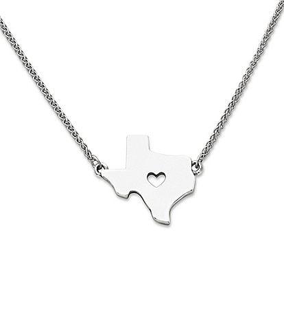 James Avery I Love Texas Necklace