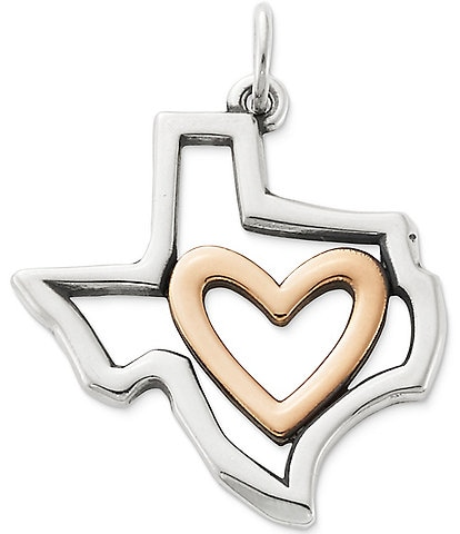 James Avery I Love Texas Pendant