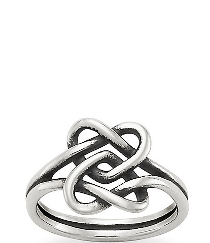 James Avery Intertwined Hearts Ring