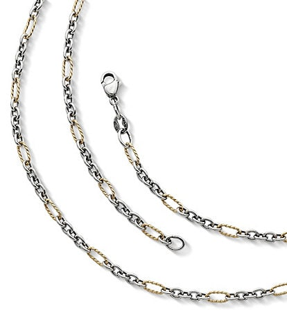 James Avery Jewelry Medium Cable Figaro Chain