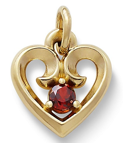 James Avery Jewelry Remembrance Heart Pendant
