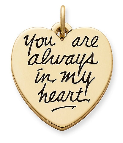 James Avery Jewelry You Are Always in My Heart Charm