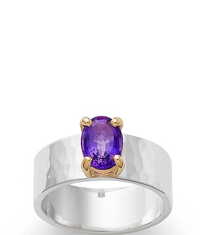 James Avery Julietta Amethyst February Birthstone Ring