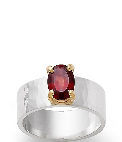 James Avery Julietta January Birthstone Ring with Garnet