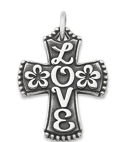 James Avery Love Cross Pendant
