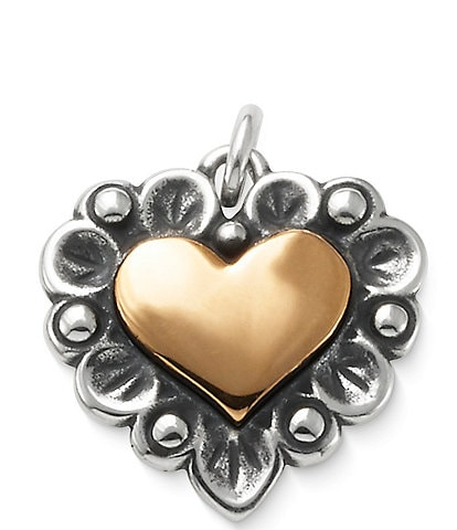 James Avery Love In Bloom Two Tone Charm